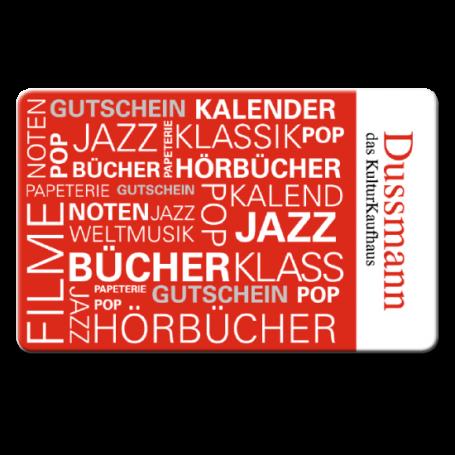 25 € Dussmann-Gutschein