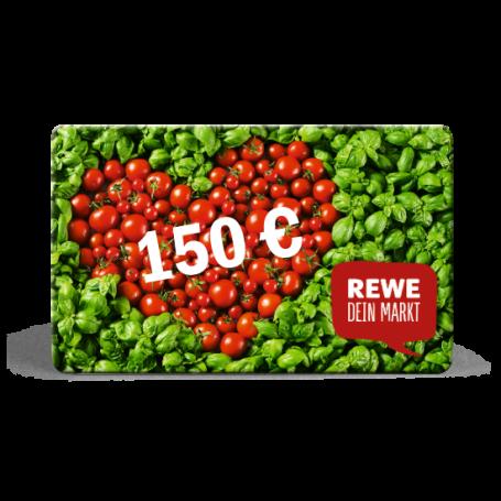 150 € REWE-Gutschein