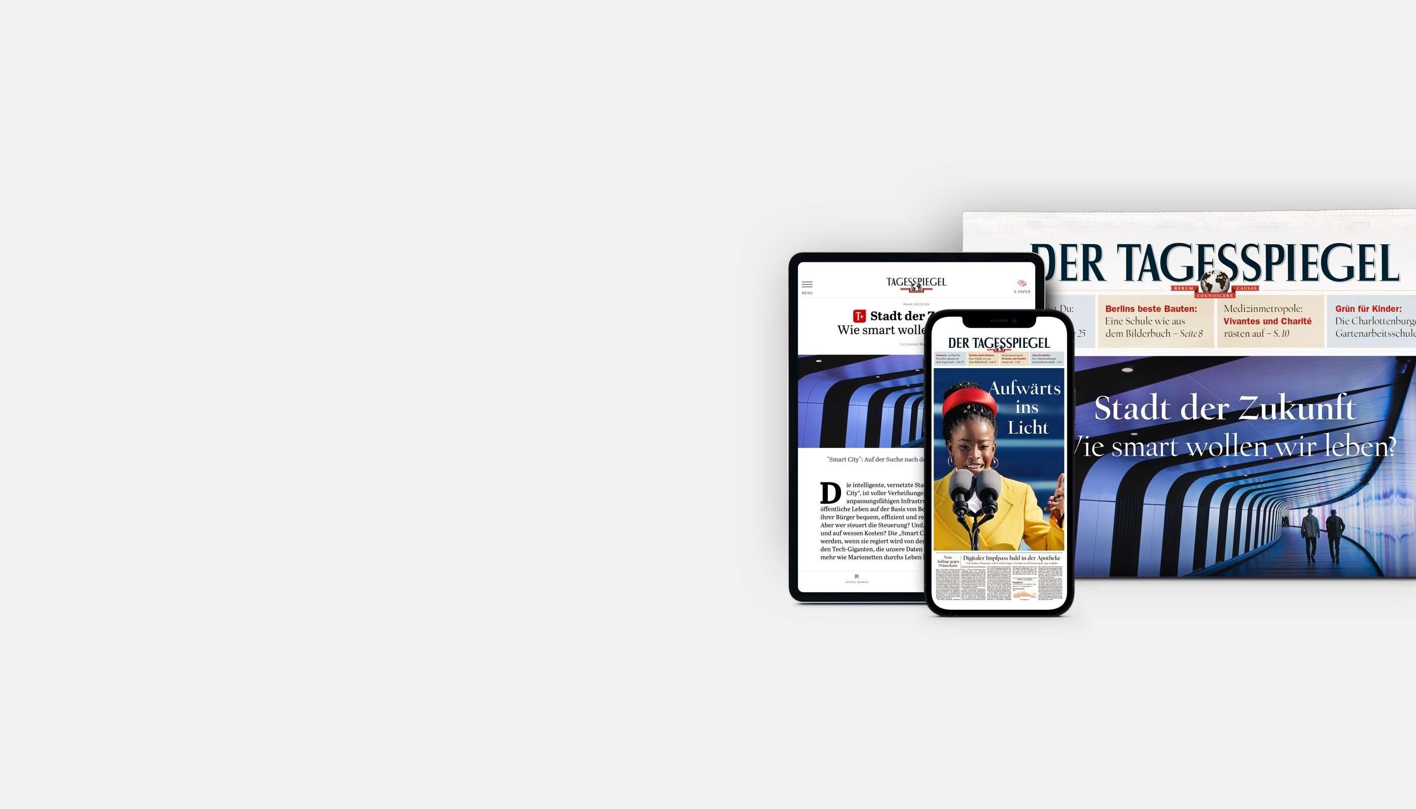 Exklusiv zur Wahl: Lesen Sie Tagesspiegel Plus 6 Wochen gratis!