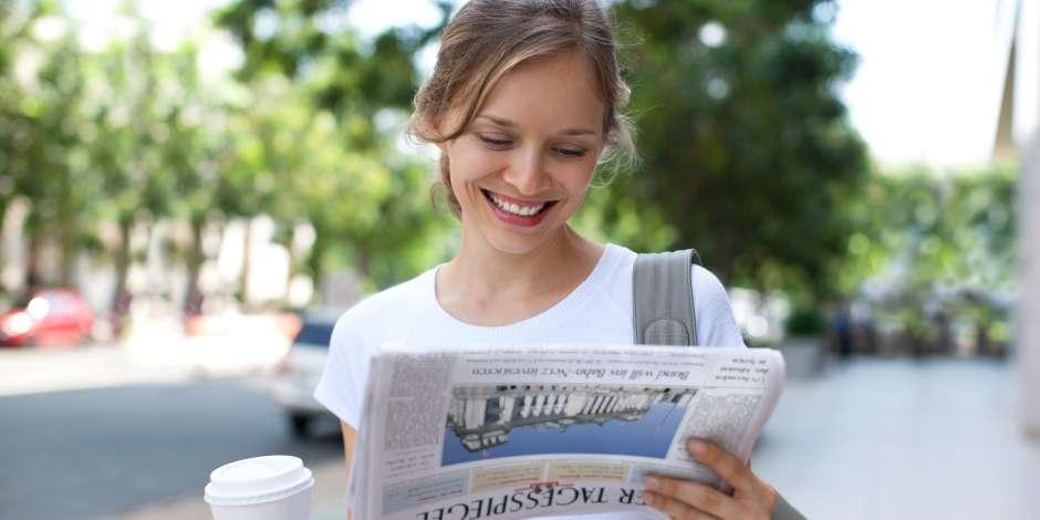 Täglich lesen für Studierende – Der Tagesspiegel im Abonnement