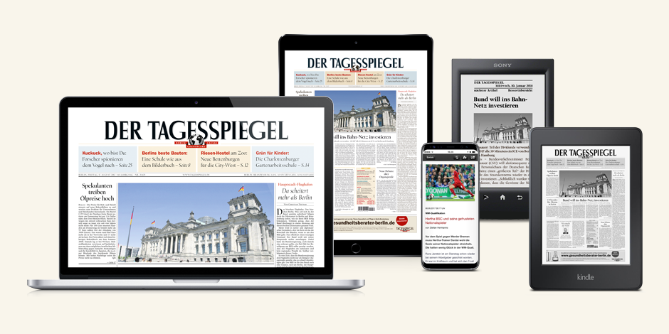 Das Tagesspiegel E-Paper
